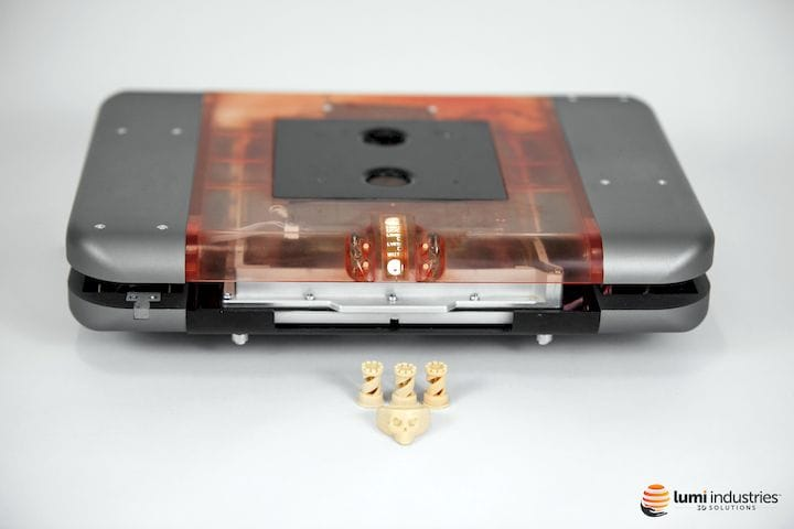 The LumiFold TB portable high-resolution desktop 3D printer [Source: Lumi Industries]