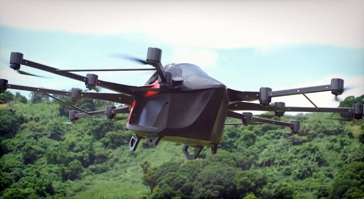 A self-built flying car [Source: SolidSmack.com]