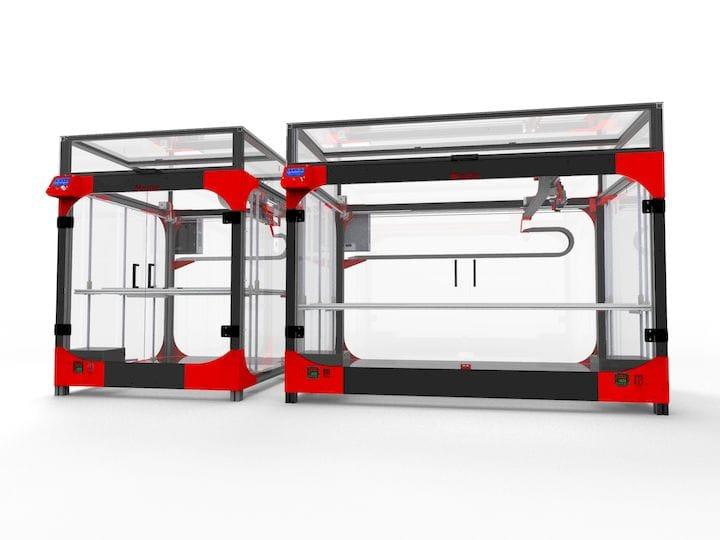 The gigantic new Modix X120 professional desktop 3D printer [Source: Modix]