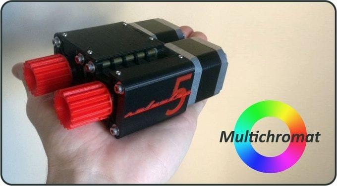 The Selectra Multi-Material 3D Printer Add-On