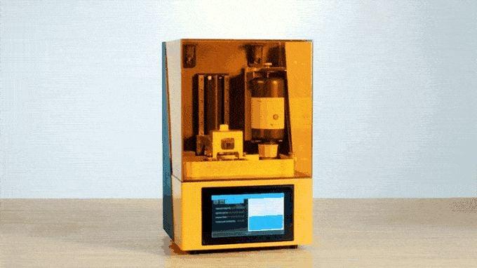 The Dazz 3D SLA 3D Printer Has Some Surprises