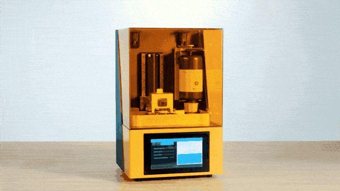 The new Dazz 3D L120 SLA 3D printer [Source: Dazz 3D]