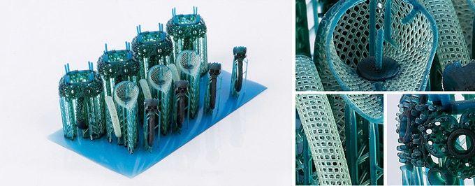Print quality appears excellent on the Dazz 3D L120 3D printer [Source:Dazz 3D]