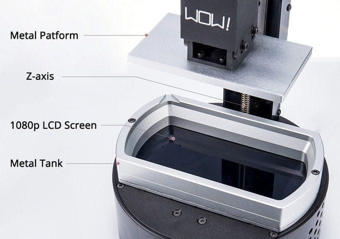 , The SparkMaker FHD Is a $500 Multi-Material SLA 3D Printer