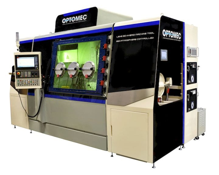 , Optomec Announces New Line of Inexpensive Hybrid Metal 3D Printers