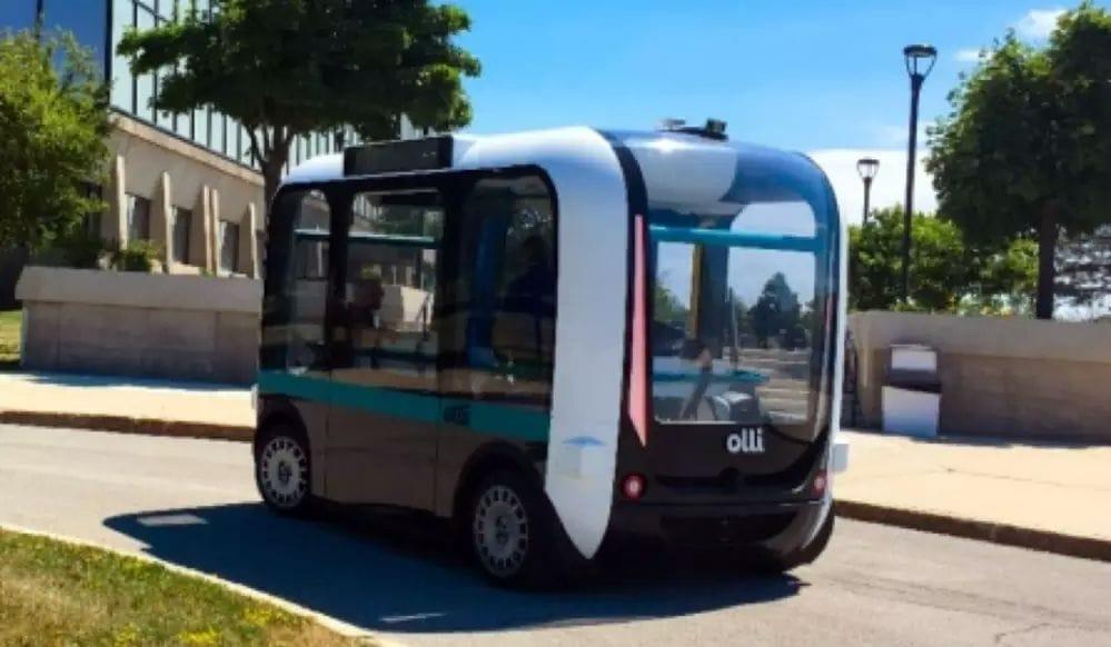 , 3D-Printed Olli Pulls into University of Buffalo's Autonomous Vehicle Program