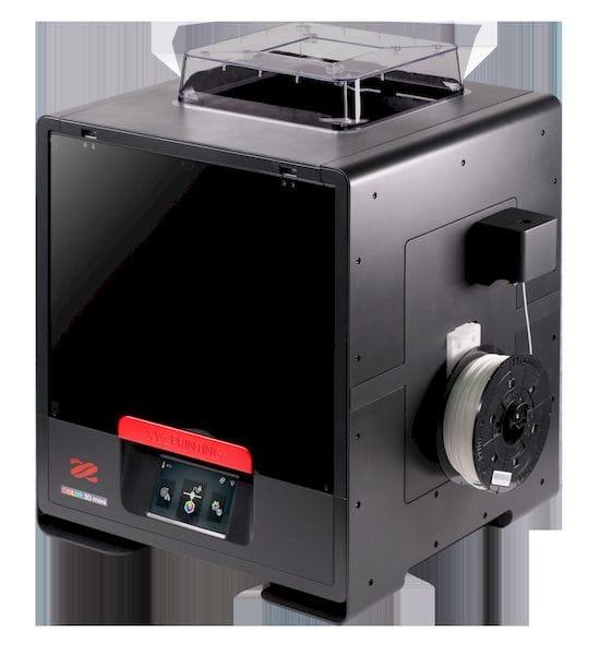 The new da Vinci Color mini desktop full color 3D printer [Source: XYZprinting]