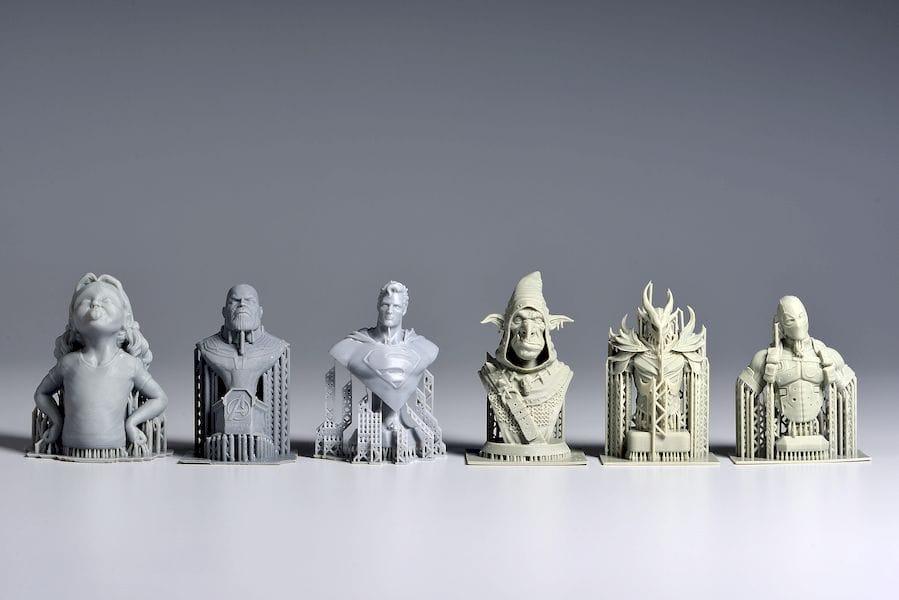 More sample 3D prints from the Phrozen Shuffle [Source: Phrozen]