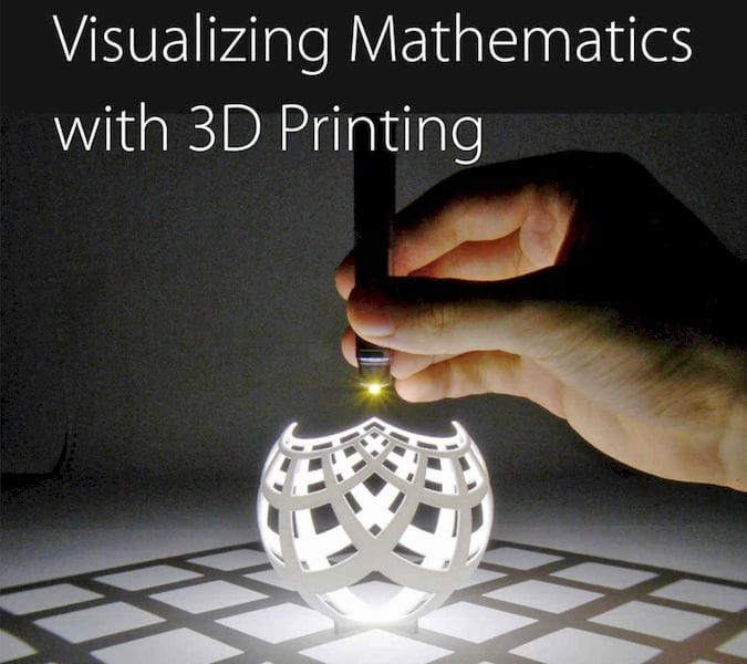 Book of the Week: Visualizing Mathematics with 3D Printing