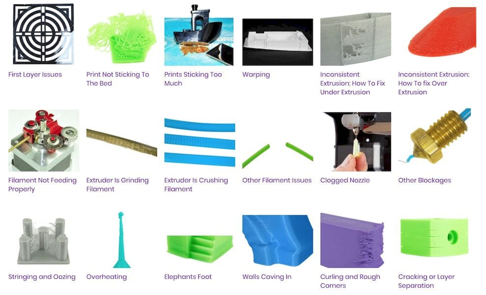 , Six Good 3D Printing Troubleshooting Guides