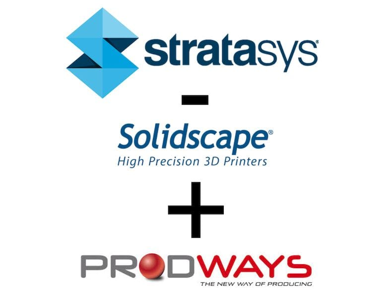 Prodways acquires Solidscape from Stratasys