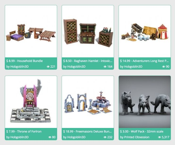 MyMiniFactory Opens 3D Model Store