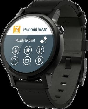 Controlling a 3D print from your watch!