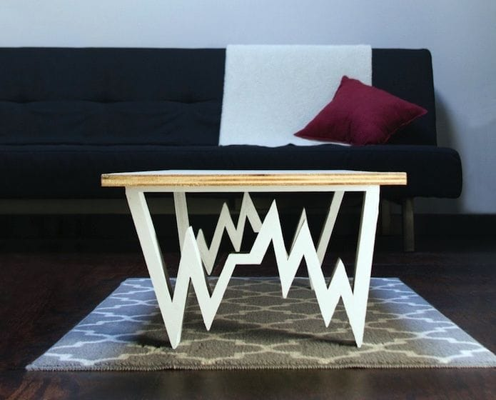 The 3D printed Pulse Table