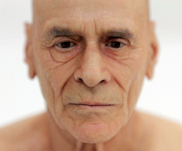 An unbelievably realistic facial 3D print by Mimaki