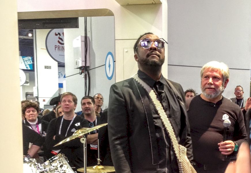 Peak 3D Printing at CES: 3D Systems CEO Avi Reichental with Will I Am