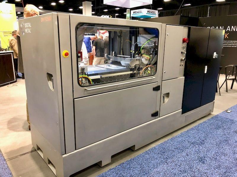 The DM P2500 3D metal printer from Digital Metal