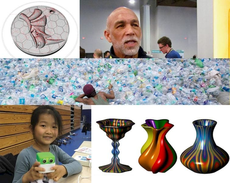 Some of the community 3D print projects supported by Fabbaloo