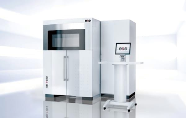 The upcoming EOS P 810 3D printer