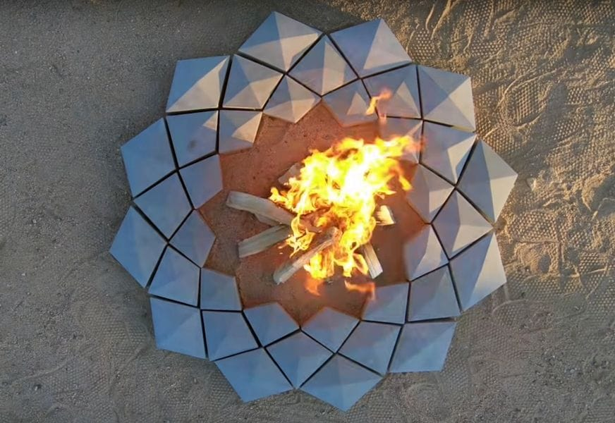 , Design of the Week: 3D Printed Firepit
