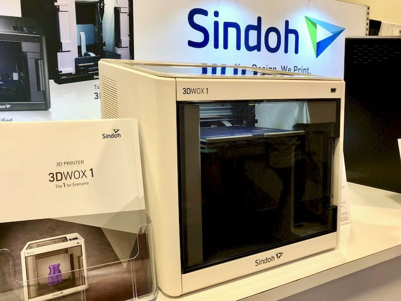 BIg News From Sindoh: A New Machine and Open Materials Coming!