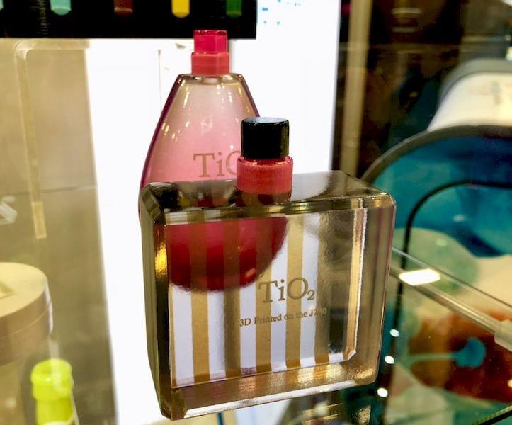 Titanium Dioxide perfume? Or a 3D printed replica?