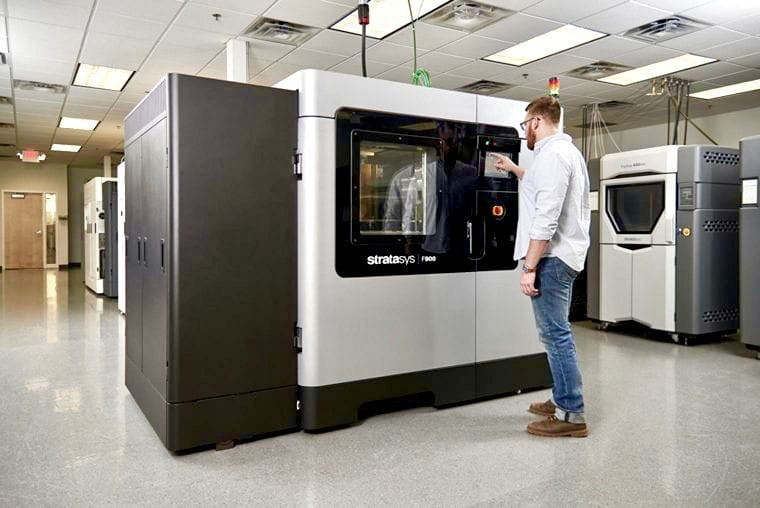 New Industrial 3D Printers From Stratasys