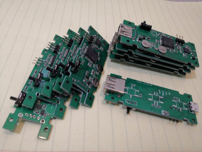 Sample boards for the 3D print monitoring system