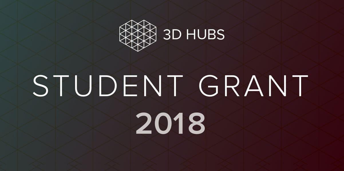 , 3D Hubs Launches Student Grant Program
