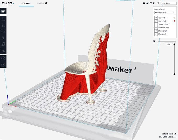 New Features in Cura 3.2