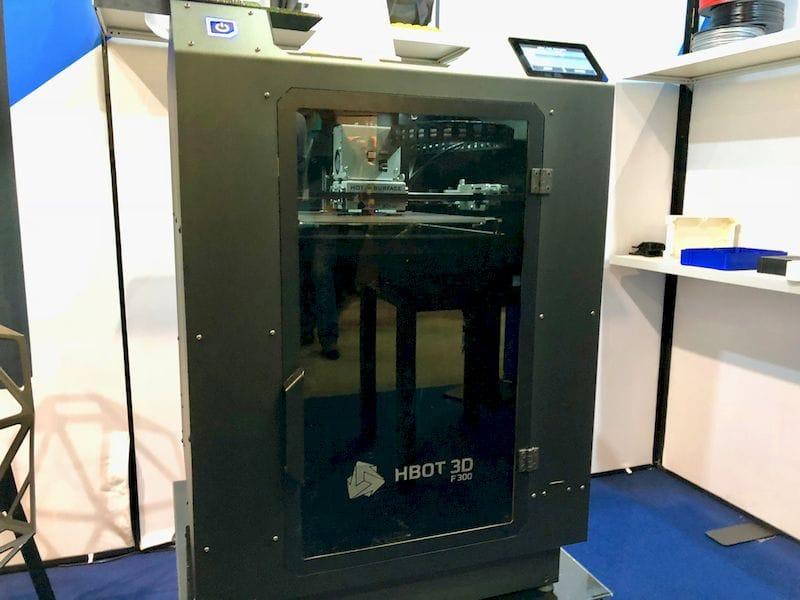 The HBOT 3D F300 Desktop 3D Printer