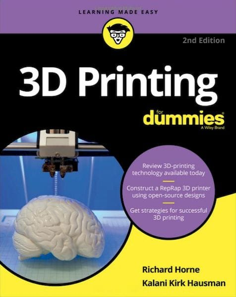 Book of the Week: 3D Printing for Dummies