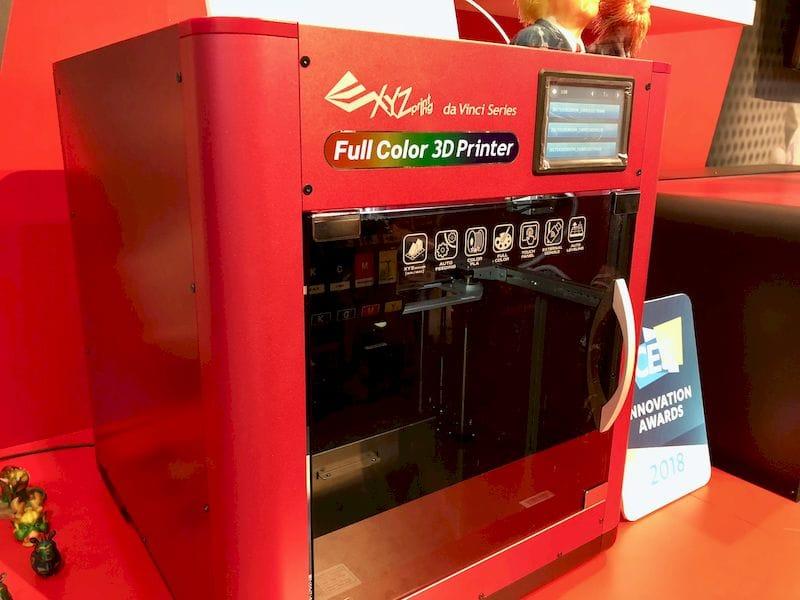 XYZprinting's New Full Color Desktop 3D Printer