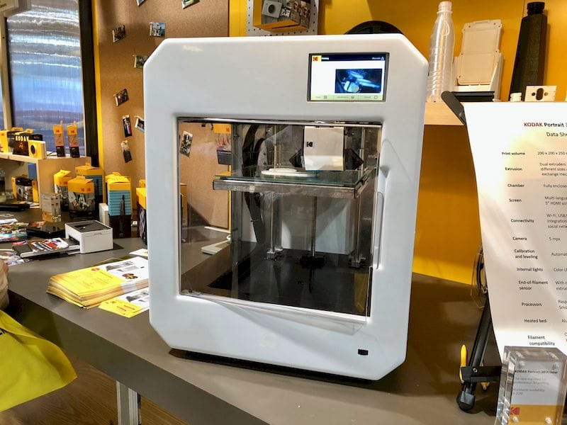 , Kodak's Powerful Portrait 3D Printer