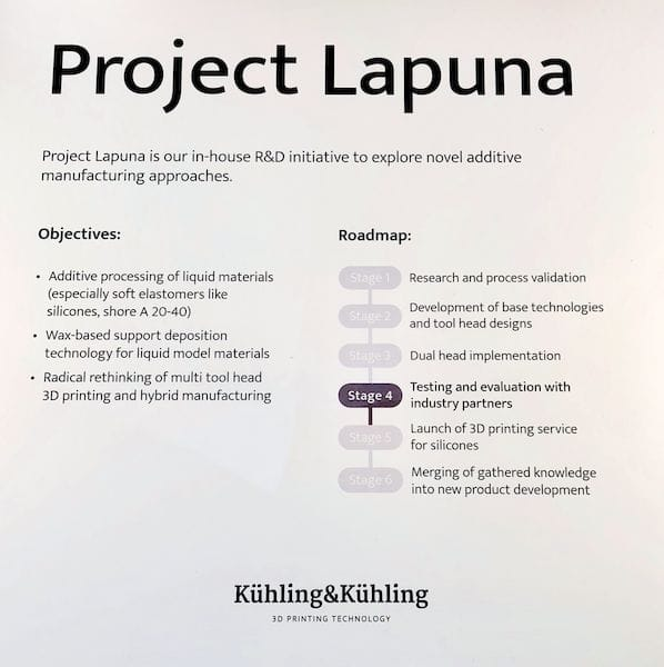Some details on Kuehling & Kuehling's Project Lapuna