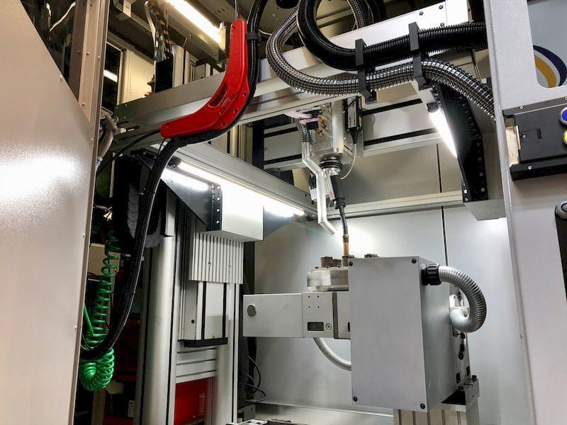 Inside the Gerfertec machine