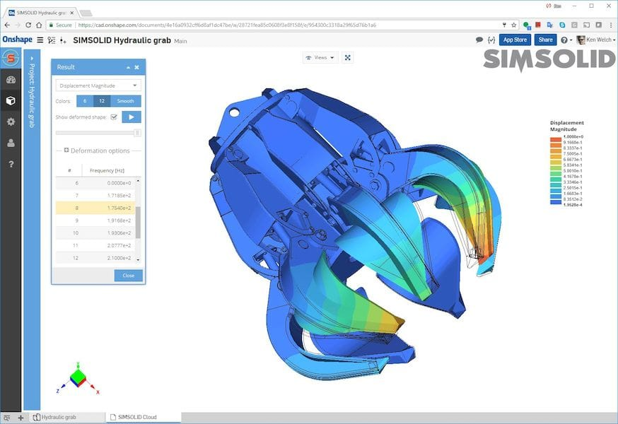Onshape Adds Simulation to their Cloud