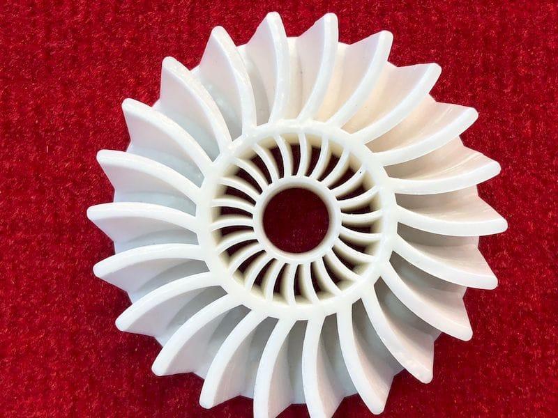 A precise ceramic 3D print using BASF materials