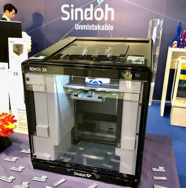 Sindoh's 3DWox 2X Desktop 3D Printer