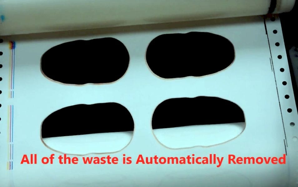 The MCOR Arke with AWR now automatically removes excess material