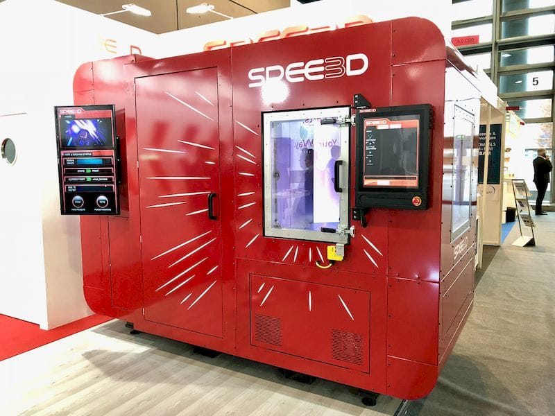 , More on Spee3D's Supersonic 3D Printer
