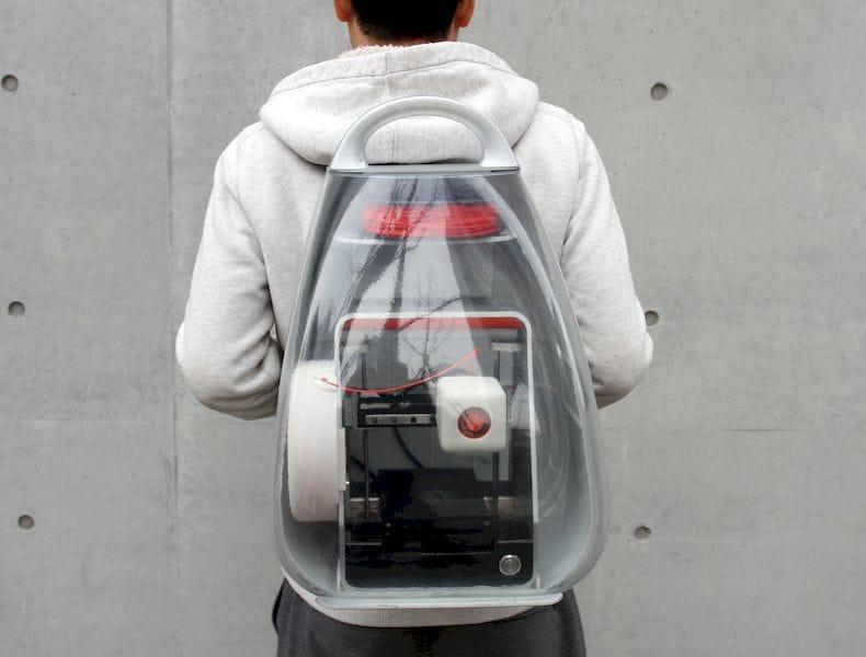 The Ridiculously Portable Migo 3D Printer