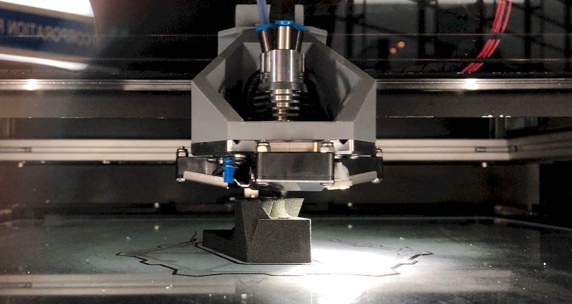 A peek inside Mass Portal's new cartesian-style 3D printer