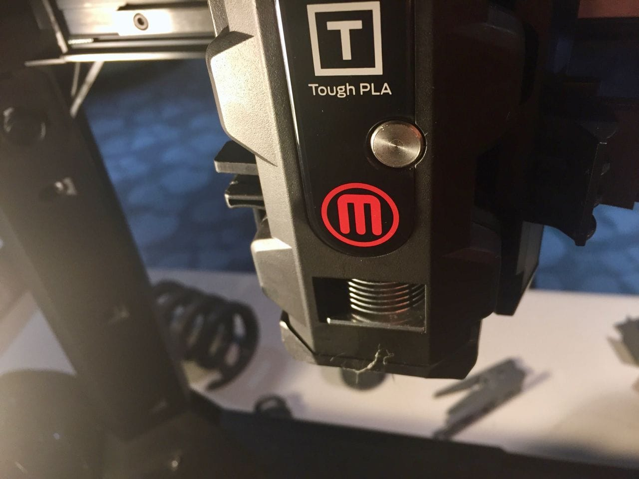The Tough PLA Smart Extruder+ from MakerBot