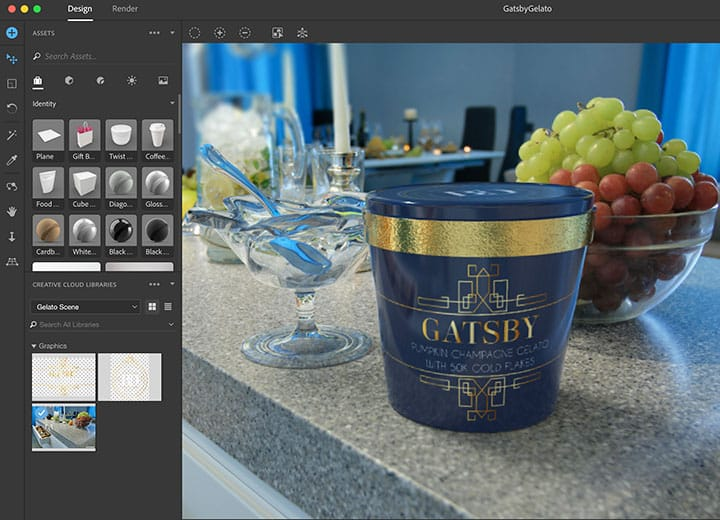Adobe's New Dimensions Has Something For 3D Printing