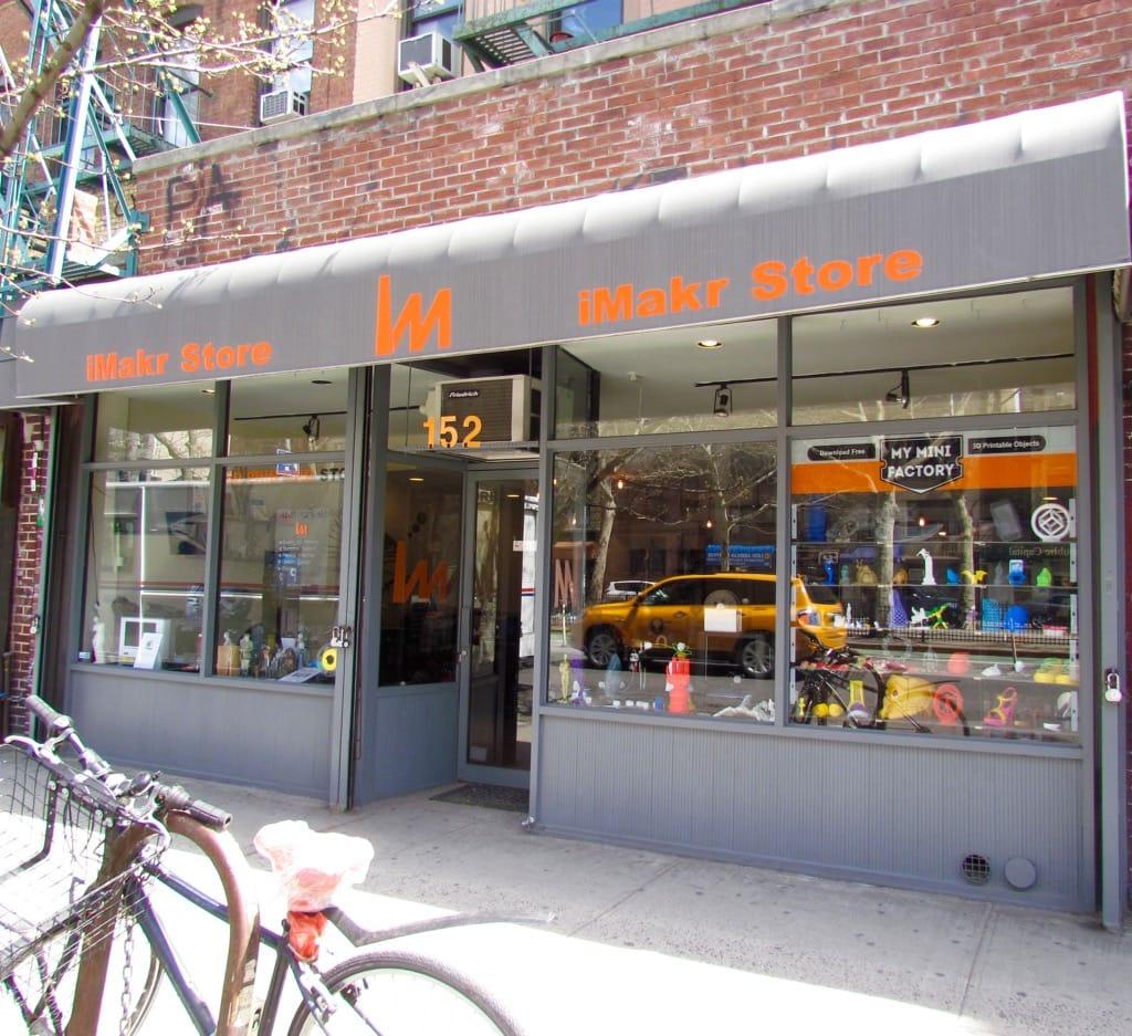 iMakr to Open 40 3D Print Retail Stores?