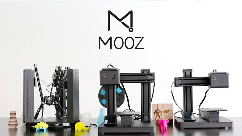 The Very Intriguing Mooz Transformable 3D Printer Series