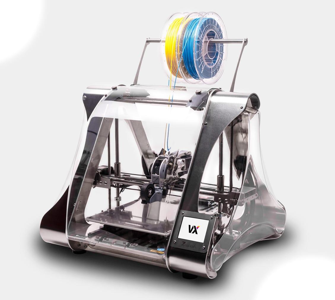 The brand new Zmorph VX multitool 3D printer