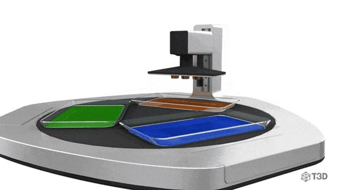 , The T3D Smartphone 3D Printer is Now Available For Order