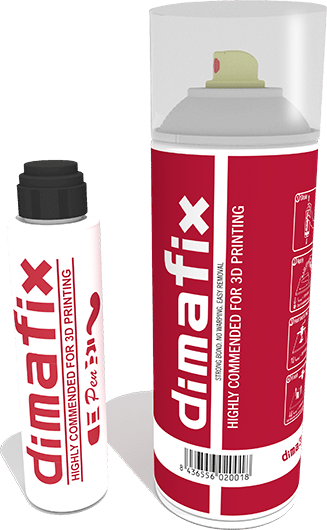 Dimafix: A Temperature-based Adhesive Solution for 3D Prints